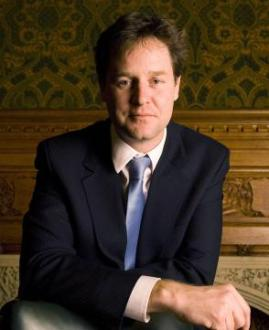 Nick Clegg.  Him and Dave look forward to having a large family.  Enough for a majority anyway.